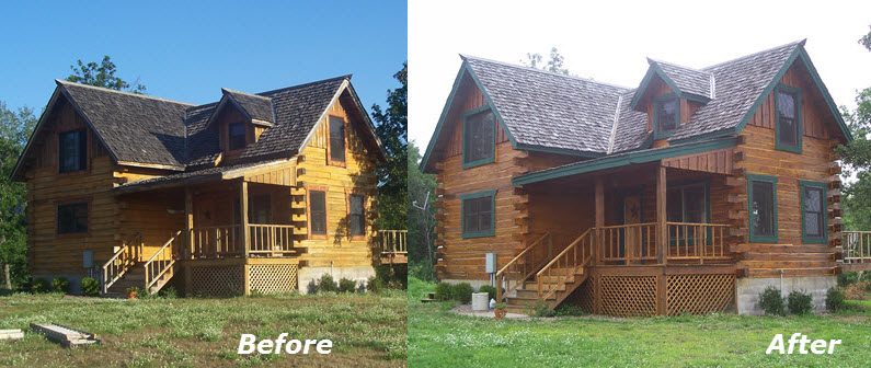 Exterior Staining Projects   Simply The Best In Painting For Bellingham WA.